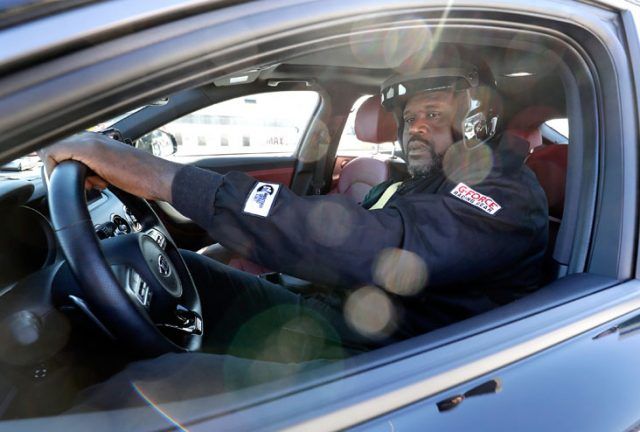 Watch Shaq Drag Race Barkley