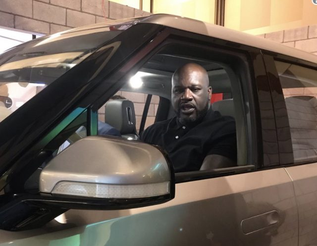 #ShaqFits – Stylin' in New Electric Truck