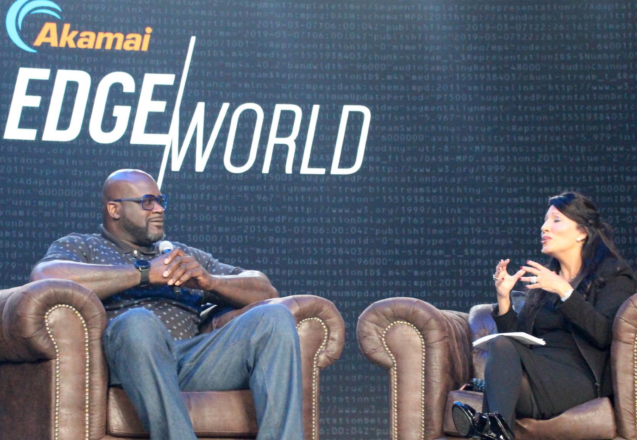 Shaq Talks Business at High-Tech Conference in Las Vegas