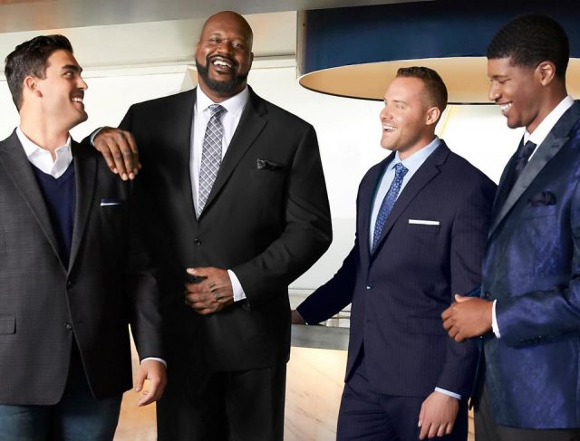 Model Search Wraps For Shaq's New JCP Men's Line